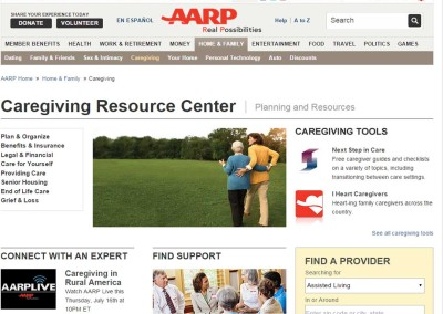 AARP Caregiver Resources