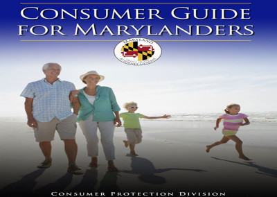 MARYLAND: Consumer Guide for Seniors