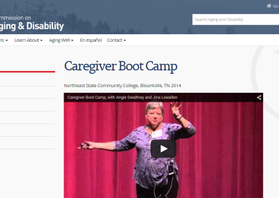Tennessee Commission on Aging & Disability Caregiver Resources